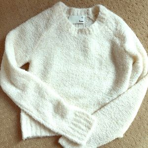 Wilfred Free Aritzia Cropped Sweater